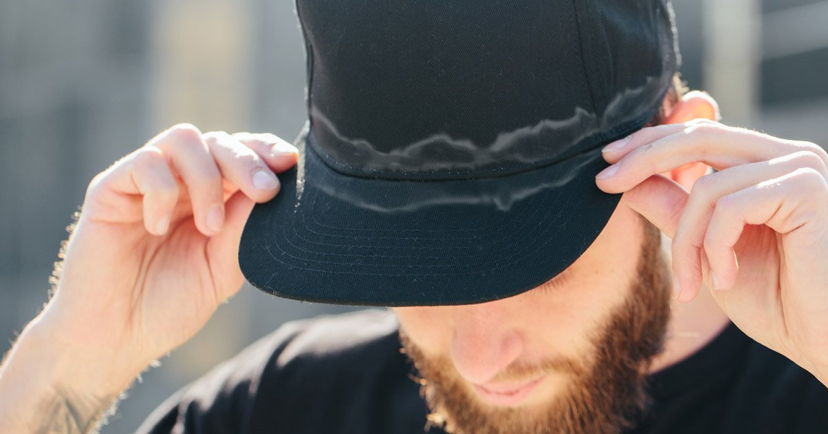 How to Get Sweat Stains Out of Hats   6 Ways to Clean Your Caps 0c51b910aa32
